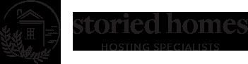 Storied Homes – Property Hosting Specialist Logo
